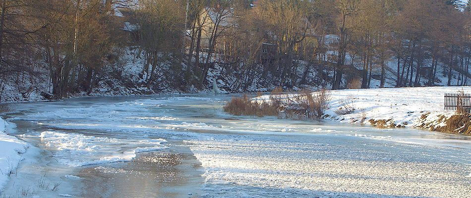 Zschopau bei Brücke Kunnersdorf